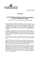 Aplicación de la exención limitada en las solicitudes de inscripción de futbolistas extranjeros menores de edad