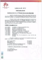 CTA – Circular Nº 11 2018-19 – Ascenso a Tercera Nacional Fútbol Sala