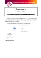 FCYLF – Circular nº 10 2019-20 Nombramiento del subdelegado Comarcal CTA Bierzo