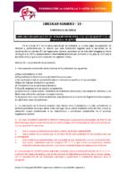 FCYLF – Circular nº 13 2017-18 Cumplimiento Artículo 95
