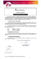 FCYLF – Circular nº 6 2018-19 Calendario Fase Regional Copa RFEF