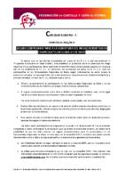 FCYLF – Circular nº 7 2018-19 Seguro complementario a la cobertura del riesgo deportivo en Campeonatos Regionales de Edad
