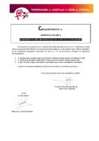 FCYLF – Circular nº 8 2017-18 – Nombramientos directores provinciales Escuela de Entrenadores