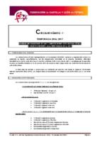 FCyLF – Circular nº 1 2016-17 – Normas reguladoras competiciones oficiales de fútbol 2016-17