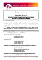 FCyLF – Circular nº 1 2017-18 – Plan Competicional fútbol