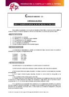 FCyLF – Circular nº 12 2017-18 Copa 1ª División Regional de Infantiles de Fútbol Sala