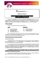 FCyLF – Circular nº 17 – Cuotas Comité de Entrenadores