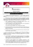 FCyLF – Circular nº 2 2017-18 – Seguro complementario Campeonatos Regionales de Edad