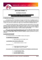 FCyLF – Circular nº 2 2019-20 Plan competicional de fútbol sala