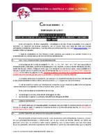 FCyLF – Circular nº 3 2016-17 – Tramitación de licencias especial facilidad en las renovaciones de aficionados y juveniles y fechas límites