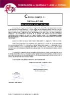 FCyLF – Circular nº 3 2019-20 Fase Regional Copa RFEF