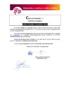 FCyLF – Circular nº 5 2019-20 Modificaciones reglamentarias