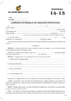 MODELO DE CONTRATO DE FUTBOLISTA PROFESIONAL