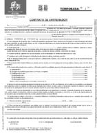 Modelo Contrato de Entrenador 18-19