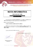 Nota Informativa Mutualidad-Nuevo número de urgencia en caso de accidente deportivo