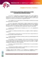 PALENCIA Normas inscripciones temporada 2015-16 y composición de categorías y divisiones