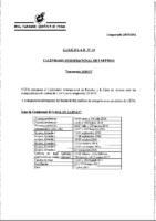 RFEF – Circular 14 15-16 Calendario Internacional de Partidos