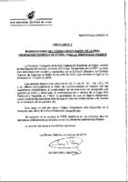 RFEF – Circular 3 – 2014-15 Modificaciones Cödigo Disciplinario RFEF