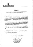 RFEF – Circular nº 12 – 2015-16 Procedimiento reclamaciones indemnización formación y mecanismo de solidaridad