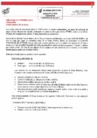 RFEF – Circular nº 3 2019-20 Fútbol Sala – Horarios Fútbol Sala