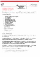 RFEF – Circular nº 5 2019-20 Fútbol Sala – Primera División Femenina Fútbol Sala
