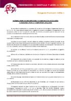 SORIA Normas inscripciones temporada 2015-16 y composición de categorías y divisiones