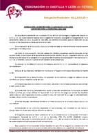 VALLADOLID Normas inscripciones temporada 2015-16 y composición de categorías y divisiones