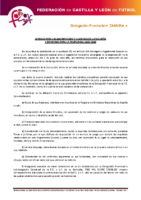 ZAMORA Normas inscripciones temporada 2015-16 y composición de categorías y divisiones