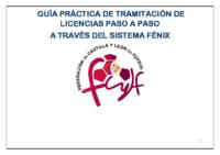 GUÍA BÁSICA TRAMITACIÓN DE LICENCIAS 2017-2018