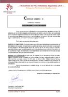 CIRCULAR Nº 3  2019-20 – INFORMACION COBERTURA FIN TEMPORADA 2019-2020