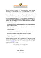 Convocatoria Electoral a la Asamblea General, Comisión Delegada y Presidencia RFEF
