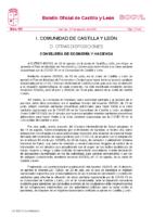 ACUERDO DE MEDIDAS JUNTA DE CASTILLA Y LEÓN 20 DE AGOSTO