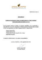RFEF – CIRCULAR Nº 9  2020/21  – NORMAS REGULADORAS Y BASES DE COMPETICIÓN DE FÚTBOL FEMENINO PROFESIONALIZADO DE ÁMBITO ESTATAL