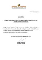 RFEF – CIRCULAR Nº 7  2020/21 – NORMAS REGULADORAS Y BASES DE COMPETICIÓN DE SEGUNDA DIVISIÓN B, TERCERA DIVISIÓN Y TORNEOS RFEF