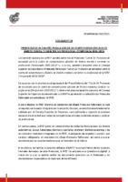 RFEF – CIRCULAR Nº 14   2020/21 – Protocolo de actuación para la vuelta de competiciones oficiales de ámbito estatal y carácter no profesional