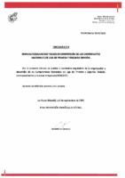 RFEF – CIRCULAR Nº 4  2020-21  – Normas Reguladoras y bases de competición de los Campeonatos Nacionales de Liga de Primera y Segunda División