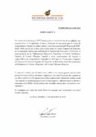 RFEF – CIRCULAR Nº 6  2020/21 -PROTOCOLO DE ACTUACIÓN CSD