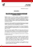 RFEF – CIRCULAR Nº 22  2020/21 – Nuevo protocolo de actuación competiciones ámbito estatal y carácter no profesional