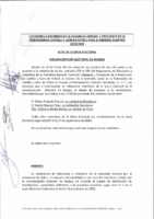 BURGOS -ACTA Nº 1- ELECCIONES  CIRCUNSCRIPCIÓN ELECTORAL BURGOS