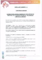 Circular 5 CTA – 2020/21 – Normas reguladoras físicas y técnicas Provincial de Aficionados