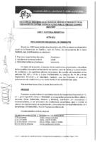 PROCLAMACIÓN PROVISIONAL DE CANDIDATOS MIEMBROS A LA ASAMBLEA GENERAL