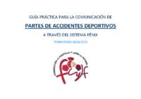 GUÍA PRACTICA COMUNICACIÓN PARTES ACCIDENTES DEPORTIVOS 2020-21