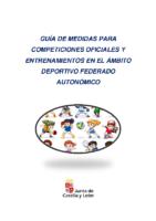 Última versión – Guía Medidas competiciones oficiales y entrenamientos en el ámbito deportivo federado autonómico JCYL