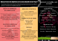 MANUAL OBJETIVOS COMUNICACION FCYLF