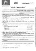 Modelo Contrato de Entrenador FCyLF
