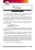 CIRCULAR Nº 23. REUNION AFEDECYL CONSEJERIA DE CULTURA Y TURISMO
