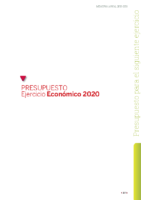 Presupuesto FCyLF 2020