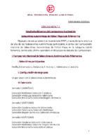 RFEF – CIRCULAR Nº 3  2021/22 –  Resultado del sorteo del Campeonato Nacional de Selecciones Autonómicas de Fútbol Playa Sub-19 Femenina