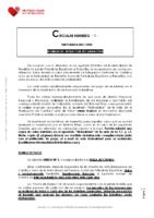 CIRCULAR Nº 1. NORMAS DE AFILIACION RECAUDACION-2021-2022