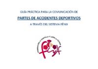 GUÍA PRACTICA COMUNICACIÓN PARTES ACCIDENTES DEPORTIVOS